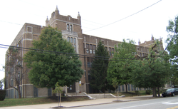 Laura H. Carnell School in Oxford Circle, September 2010