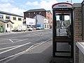 Phonebox at Sedan Avenue, Omagh - geograph.org.uk - 256276.jpg