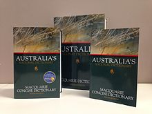 Photo of Macquarie Dictionary Sixth Edition.JPG