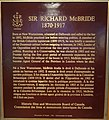Photo of Plaque about Sir Richard McBride.jpg