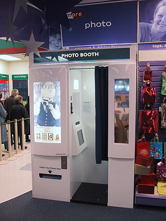 Photo booth - A Snap Digital Imaging booth in the UK