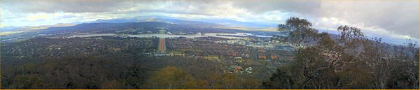 from Mount Ainslie
