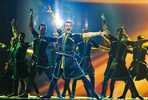 Azerbaijani dances - Male dance