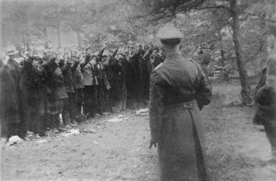 Piaśnica before execution