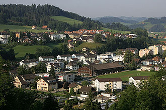 Willisau - Willisau and surrounding hills