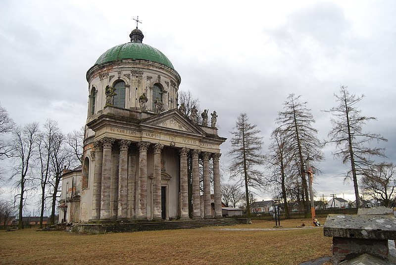 Файл:Pidhirci Castle Park Church.JPG