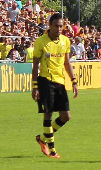 Pierre-Emerick Aubameyang - Aubameyang with Borussia Dortmund in 2013
