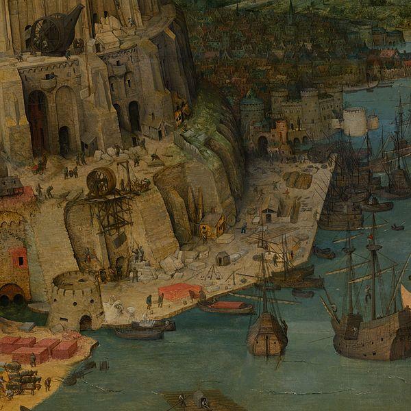 File:Pieter Bruegel the Elder - The Tower of Babel (Vienna) - Google Art Project-x2-y1.jpg