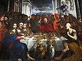 Pietro paolini, convito di s. gregorio magno, 1650 ca., da refettorio del convento di s. frediano, lu, 03.JPG