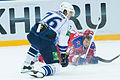 Piganovich hits Grabovski 2012-11-02 CSKA Moscow—Amur Khabarovsk KHL-game.jpeg