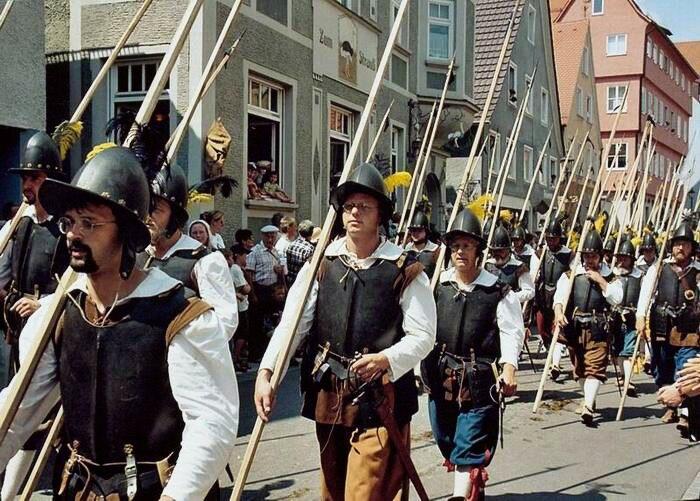 Pikeniere Wallenstein-Festspiele Memmingen