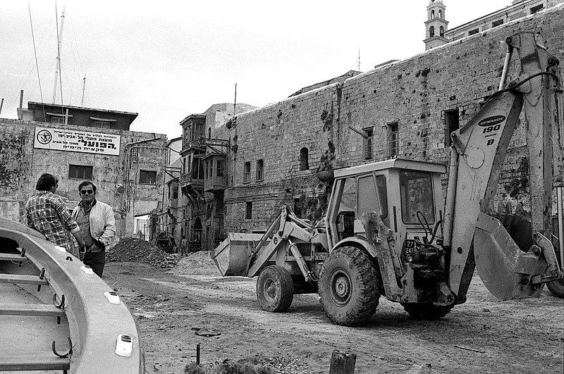שיפוץ הנמל בשנות ה 70
