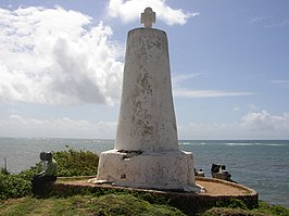 Vasco da Gama monument in Malindi