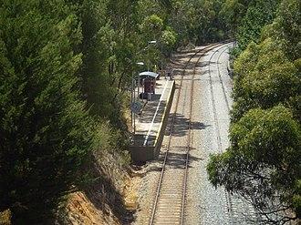 Belair railway line - Image: Pinera Railway Station Adelaide