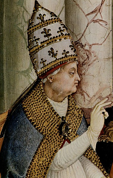 Pio II. O Papa que ajudou a criar e patrocinou a Ordem do Dragão.