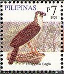 Pithecophaga jefferyi 2008 stamp of the Philippines.jpg