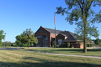 Pittsfield Charter Township, Michigan - Image: Pittsfield township fire station numer 2