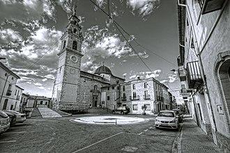 Montaverner - Image: Plaça Major Montaverner