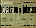 Plakat za predstavo Kovarstvo in ljubezen v Narodnem gledališču v Mariboru 20. februarja 1940.jpg