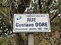 Plaque rue Gustave Doré Fontenay Bois 1.jpg