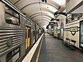 Platform at St James railway station, Sydney.jpg