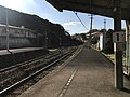 Platform of Tabira-Hiradoguchi Station 8.jpg