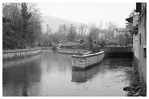 Livenza - The Livenza flowing by Polcenigo