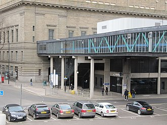 Tayside House - Image: Police station under the walkway geograph.org.uk 1805024