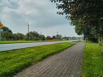 Pollagh - Image: Pollagh Main Street Offaly 00001