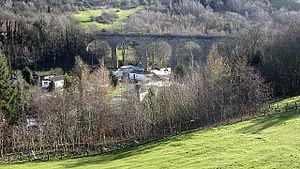 Esk Valley Railway (Scotland) - Viaduct at Polton