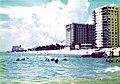 Pompano Beach Florida 1976 - Beach and Pelicans.jpg