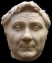 Busto di Gneo Pompeo Magno, che fece della Siria una provincia romana.