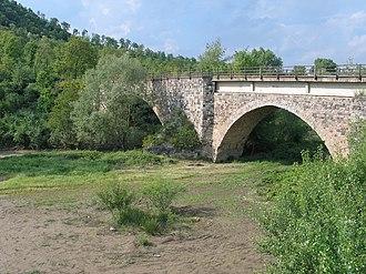 Ofanto - Image: Ponte Romano Monteverde