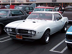 1967 Pontiac Firebird convertible. Photo by Us...