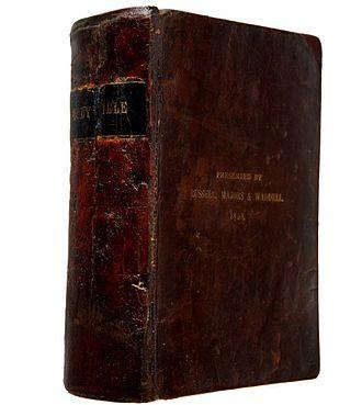 Pony Express Bible - Pony Express Bible, KJV of 1858
