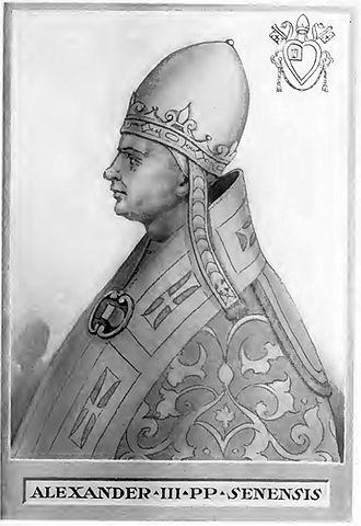 Pope Alexander III - Image: Pope Alexander III