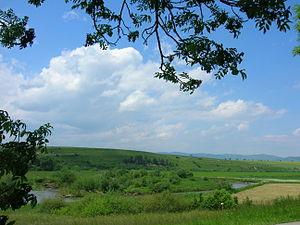 Poprad (river) - The Poprad by Spišská Belá in Kežmarok district