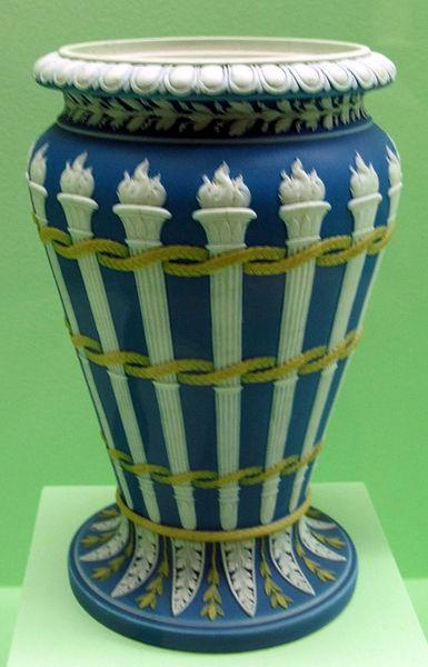 File porcellana di wedgwood vaso 1795 ca jpg for Vaso di porcellana