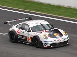 Prospeed Competition - Prospeeed Porsche 997 GT3 RSR at the 2010 1000 km Spa-Francorchamps