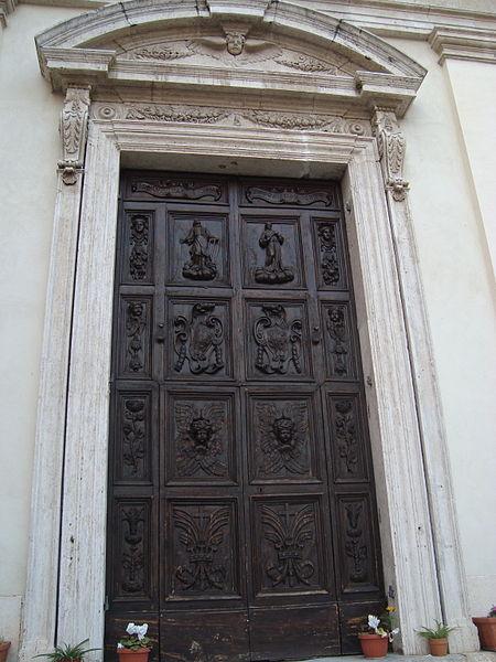 File:Porte San Lorenzo in Panisperna.JPG