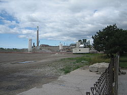 Once the site of heavy industry, much of the Port Lands is now abandoned