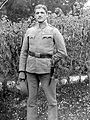 Portrait, man, uniform, weapon, garden Fortepan 3538.jpg