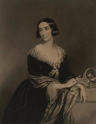 Lady Charlotte Guest - Portrait of Lady Charlotte Guest