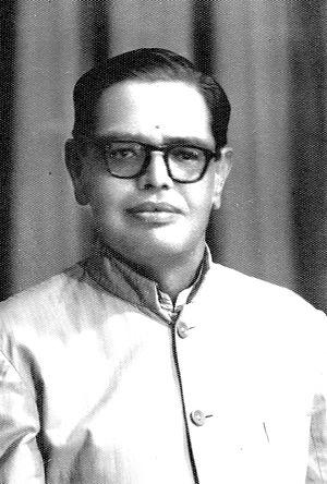 S. Srikanta Sastri - Image: Portrait of S. Srikanta Sastri