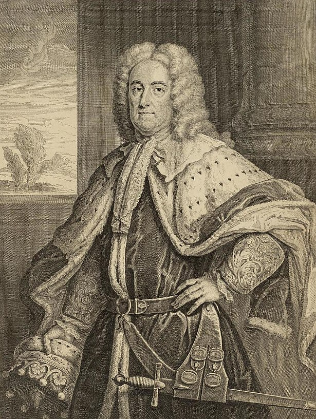 The Right Honble. James Earl of Derby