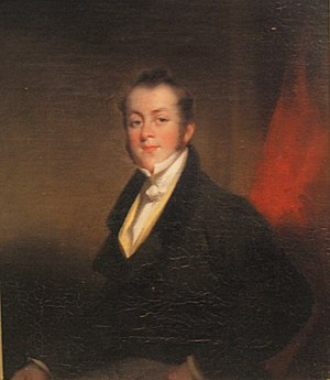 Thomas Beale - Portrait of Thomas Beale by George Chinnery