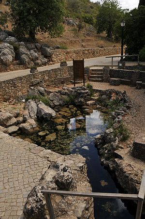 Alte River - Image: Portugal Alte Fonte Grande