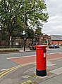 Postbox - Market St Leigh - geograph.org.uk - 933540.jpg