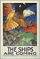 Poster, The Ships are Coming, 1917 (CH 18612743-2).jpg