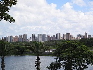 Ceará - Lagoon of University of Fortaleza.